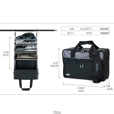 the gear carry on closet luggage duo
