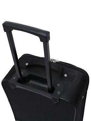 """Travel Bag Carry-On Luggage 18"""" Telescopic Durable Polyester"""
