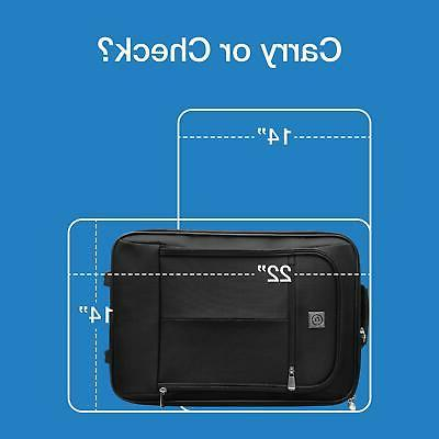 Travel Carry-On Luggage Handle Durable Black
