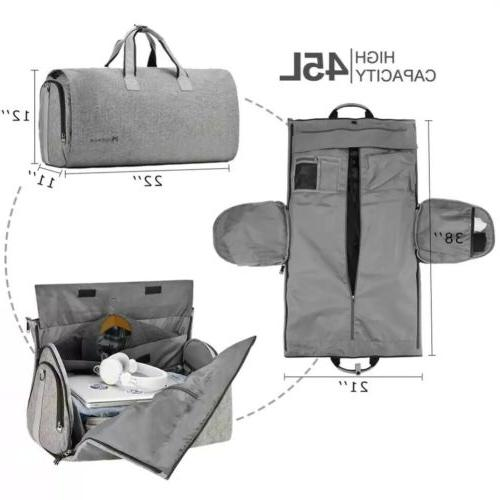 Modoker Garment with Strap Bag Carry on Hanging Suitc