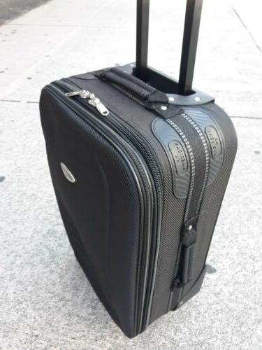 travel luggage 2 wheels carry on new