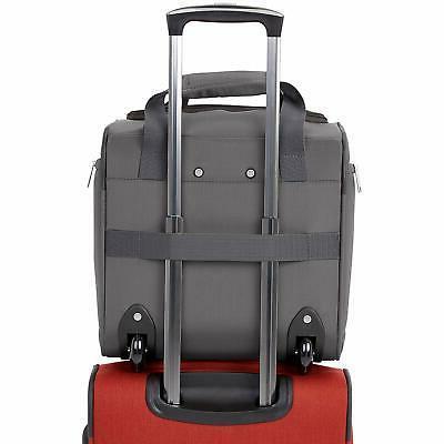 AmazonBasics Carry-On Rolling Travel Size
