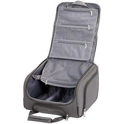 AmazonBasics Carry-On Rolling Travel Luggage Size