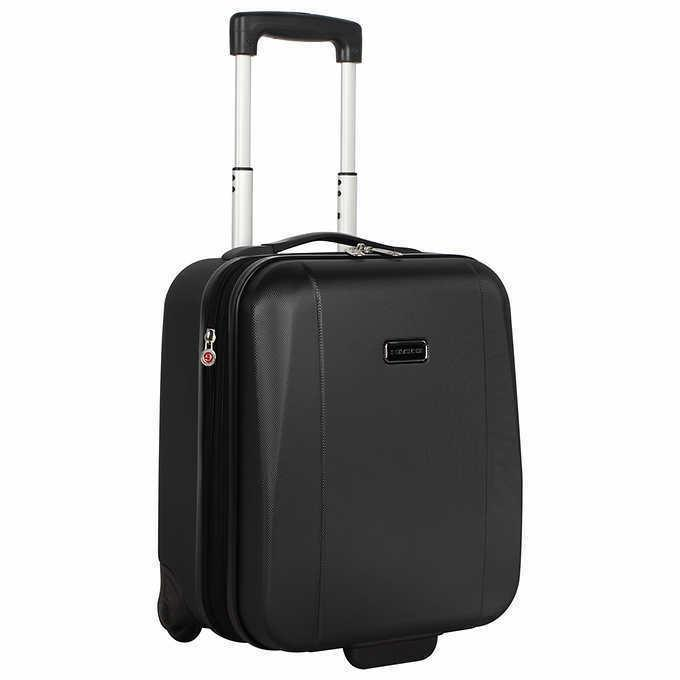 underseat hardside carry on 2 expandable luggage