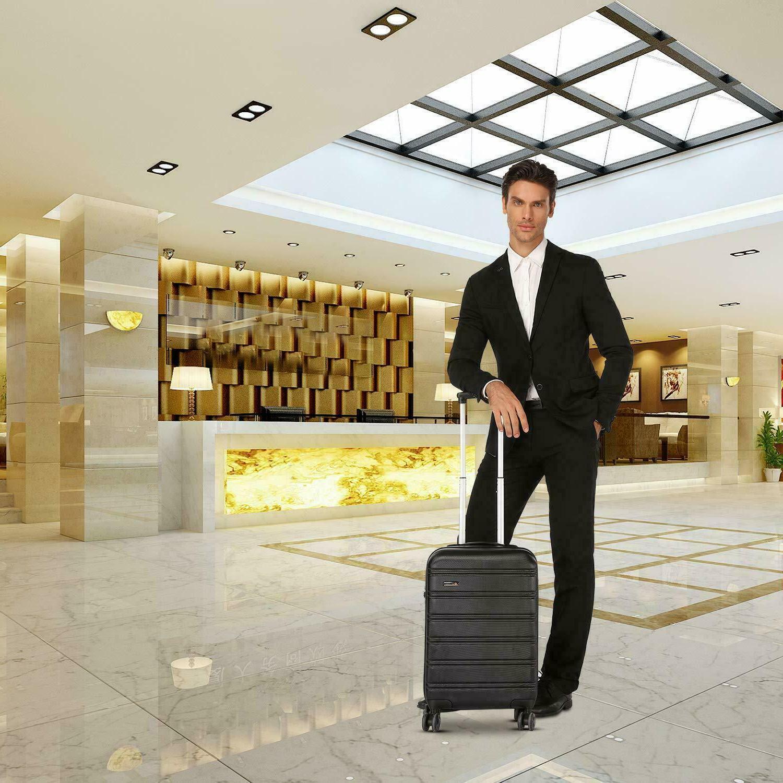 REYLEO 20in PC+ABS on Luggage