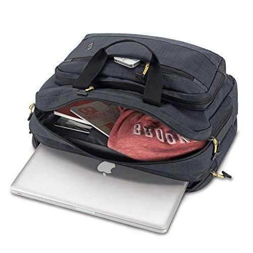 "Solo Velocity 15.6"" Hybrid Briefcase,"