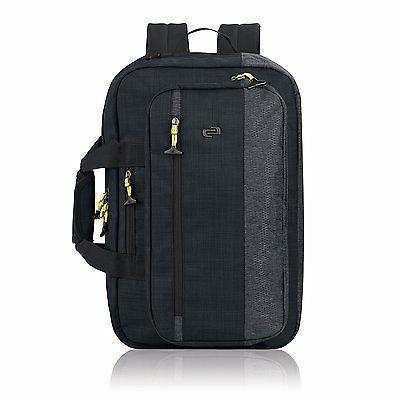 velocity laptop hybrid backpack briefcase