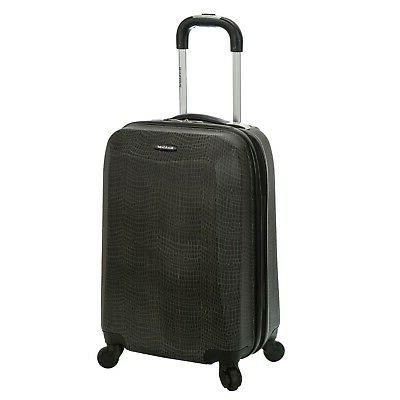 Rockland Vision Light Hardside Spinner Carry-On Luggage - Cr