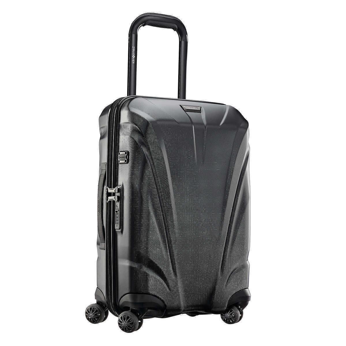 xcalibur xlt hardside carry on luggage spinner