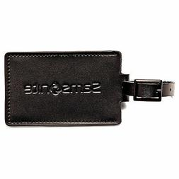 leather luggage id tag set of 2