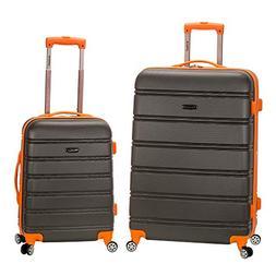 Rockland 2-Piece Lightweight Hardside Spinner Upright Luggag