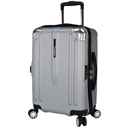 Traveler's Choice Unisex London 22 Spinner Luggage Silver Si