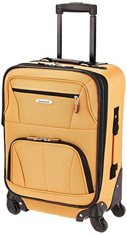 Rockland Luggage 20 Expandable Carry-On Spinner Upright - Or