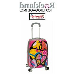 Rockland Luggage 20 Inch Polycarbonate Carry On Luggage Love