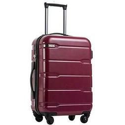 Coolife Luggage Expandable Suitcase Carry on TSA Lock Spinne