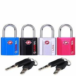 Forge Luggage Locks TSA Approved Dimple Key Travel  Zinc All