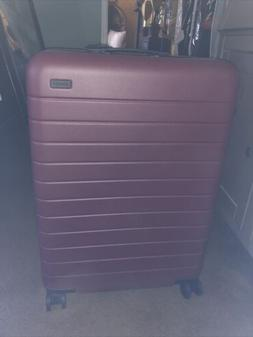 Away Luggage-New-The Bigger Carry On In Brick Red Color-Mono