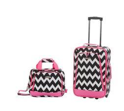 Rockland Luggage Rio SoftSide 2-Piece Carry-On Luggage Set N