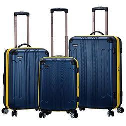 3 Piece Luggage Set, Navy