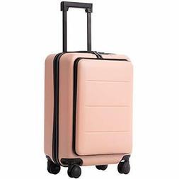 COOLIFE Luggage Suitcase Piece Set Carry On |Sakura pink..)