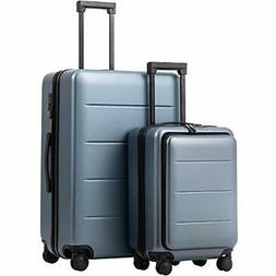 COOLIFE Luggage Suitcase Piece Set Carry On ABS+PC