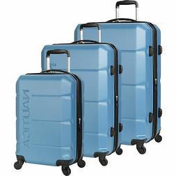 Nautica Marine 3 Piece Hardside Spinner Luggage Set Multiple