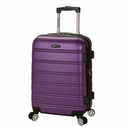Rockland Melbourne 20 Inch Expandable ABS Carry On Luggage P