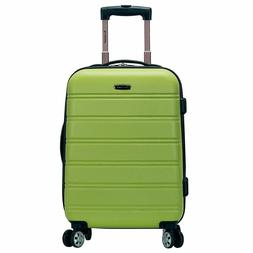 Rockland Melbourne 20 Inch Expandable ABS Carry On Luggage L