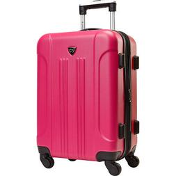 "Travelers Club Luggage Modern 20"" Hardside Expandable Hardsi"