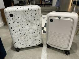Monos Luggage Set - Check In Medium & Carry On Pro - White &