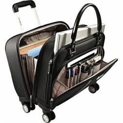 NEW Carry On Luggage Samsonite Spinner Mobile Office 4 Wheel