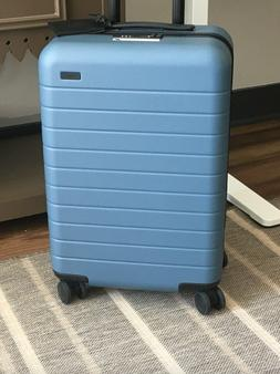 New in Box Away Travel Luggage The Bigger Carry-On w/ Batter