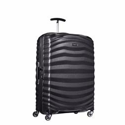 "NEW Samsonite Lite Shock 28"" BLACK Carry on Luggage 4-wheele"