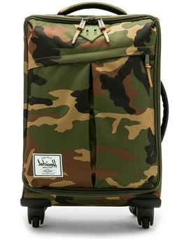 NEW NWT Herschel HIGHLAND CAMO Carry-On Luggage Suitcase Gre