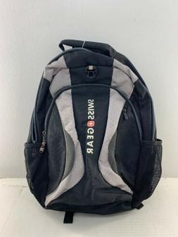 New SwissGear Silver and Black Multi-Compartment Backpack