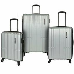 NEW Wellington Luggage Set Traveler's Choice Hard Side 3pc S