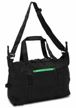 Nike NSW Eugene Premium Duffel Bag Black/Green BA4738-003