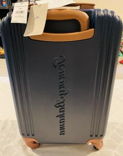 NWT Tommy Bahama Maya Bay Collection Navy Cognac Carry On Lu