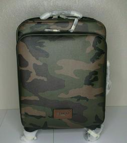 NWT COACH  Wheeled Carry on  Travel Luggage with Camo Print