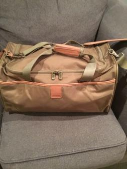 HARTMANN Overnight Luggage  Bag Carry On Ballistic Nylon Lea
