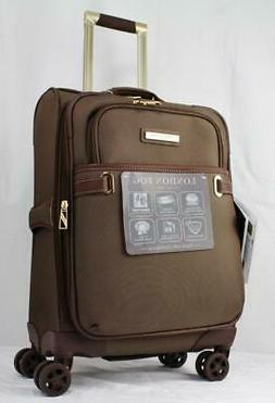 "LONDON FOG OXFORD II 20"" EXPANDABLE SPINNER CARRY ON SUITCAS"