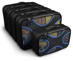 Shacke Pak - 5 Set Packing Cubes - Luggage Packing Travel Or