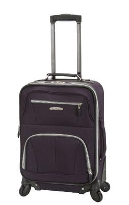 "Rockland Pasadena 19"" Expandable Spinner Carry-On"
