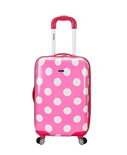 """Rockland Pink Dot 20"""" Carry-On"""