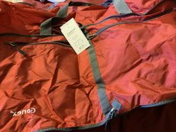 Red Gonex Nylon Travel Foldable Luggage Bag Storage Carry-On