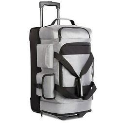 Coolife Rolling Duffel Travel Duffel Bag Wheeled Duffel Suit