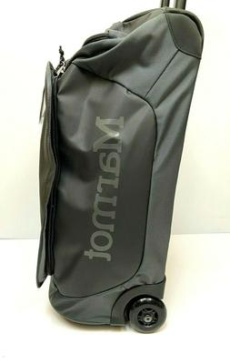 MARMOT Rolling Hauler Carry On Duffle Luggage Gear Bag Trave