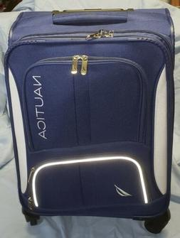 Nautica Rolling Suitcase Carry-on Bag with Spinners and Tele