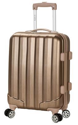 santa fe hardside spinner wheel luggage bronze