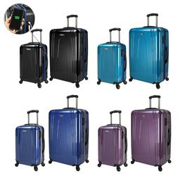 """US Traveler Smart USB EZ-Charge Carry-on Spinner 29"""" Luggage"""